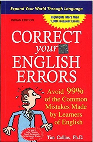 Correct Your English Errors - Avoid 99 of the Comm