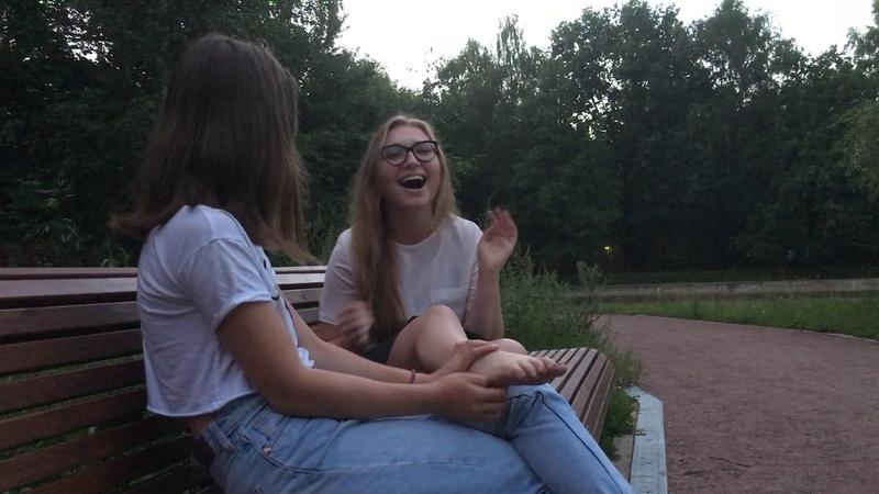 Щекотка челлендж tickle for 1 minute challenge feet promo