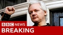 Julian Assange: Wikileaks co-founder arrested in London- BBC News