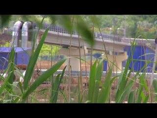 Эстакада теплоцентрали-автоподход Керчь.Дрыгыля на месте:) за день до пуска моста.