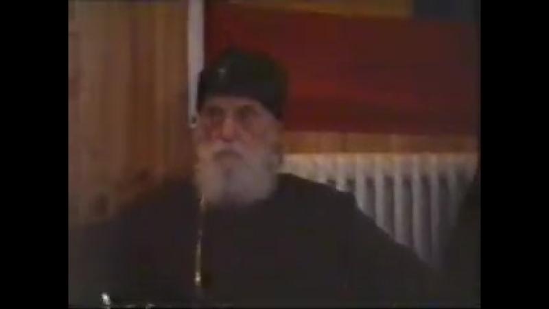 Первоиерарх РПЦЗ Митрополит Виталий 1997 Лесна