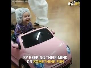Дети едут в операционную. Так не страшно