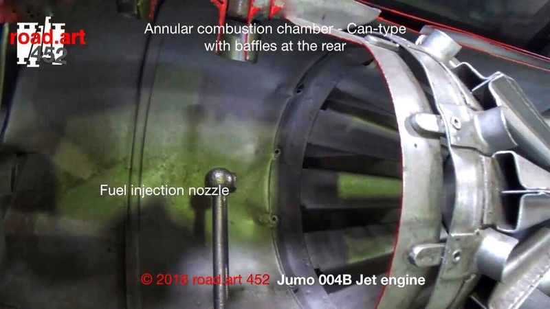 Explaining the design of the Junkers Jumo 004 B The turbojet engine of the Me 262