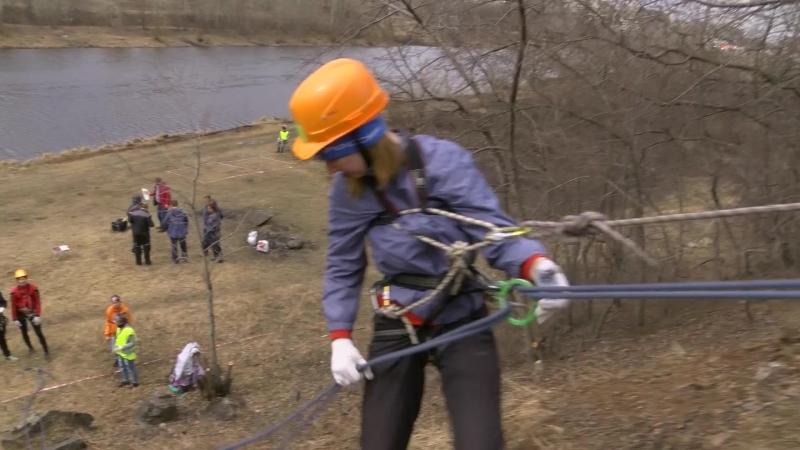 Городские соревнования юных спасателей. 27.04.18