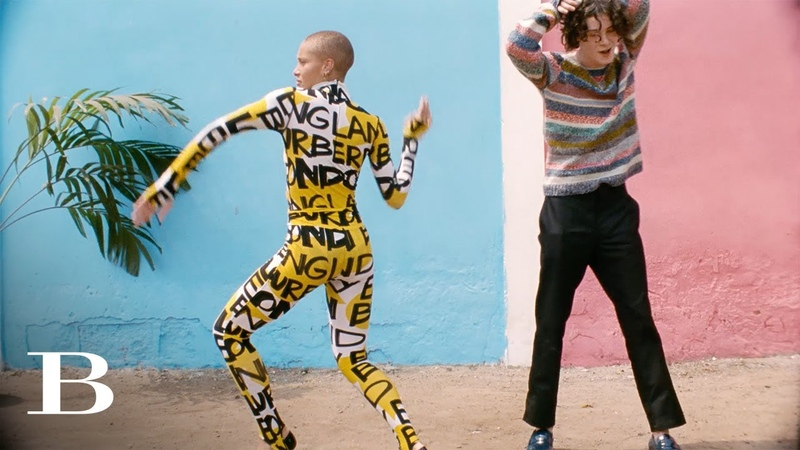 Discover Adwoa in Ghana Juergen Teller And Adwoa Aboah For Burberry