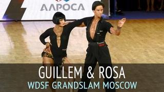 Guillem Pascual & Rosa Carne | Ча-ча-ча | 2018 GrandSlam Latin в Москве