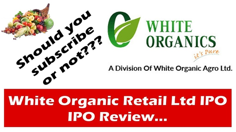 White Organic IPO Date Prospectus Allotment Listing Reviews Status