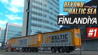 Beyond The Baltic Sea DLC Finlandiya'da İlk Oynanış - Euro Truck Simulator 2