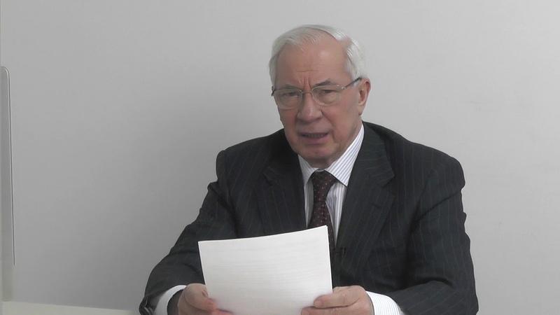 Азаров перечислил висяки Порошенко