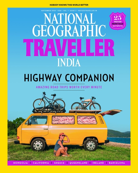National Geographic Traveller India - September 2018