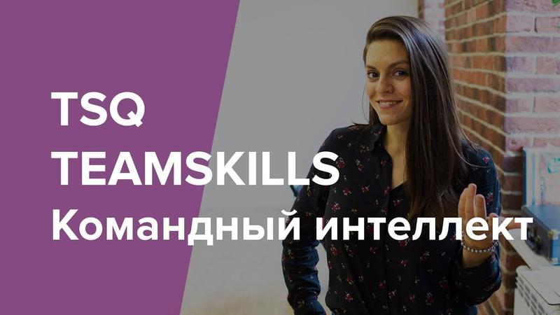 TEAMSKILLS | Командный интеллект | TSQ
