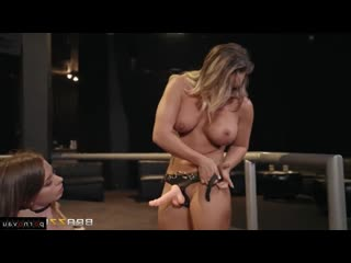 Alex Blake & Cali Carter [ Strapon &  Lesbians / Anilingus, In the club, Cunnilingus]