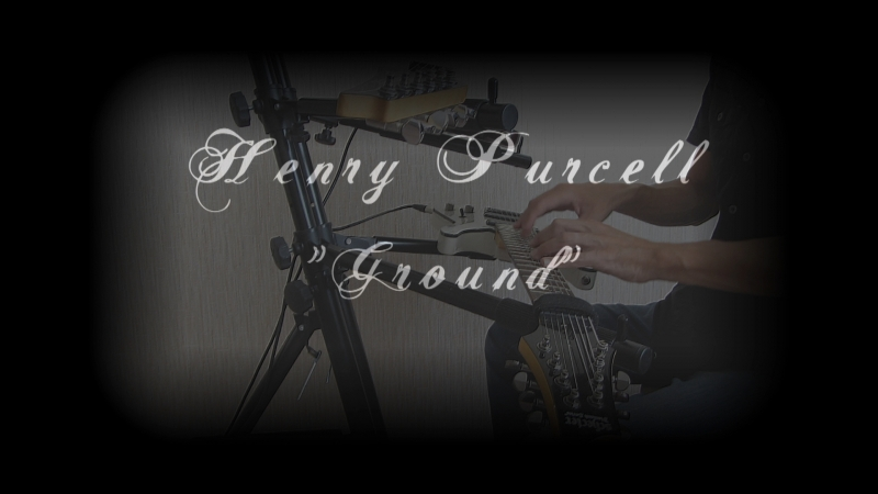 Эд Коффе/Henry Purcell: «Ground/Земля» (For two Tapping Guitars) Schecter 8 str Ibanez 6 str