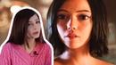Стримерша Карина смотрит: Алита: Боевой ангел   Официальный трейлер 3   HD