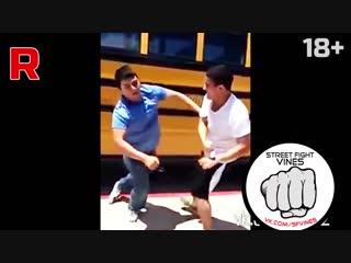 Street fight vines #2 slow mo