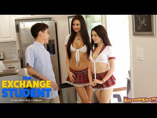 [thatsitcomshow] eliza ibarra, jane wilde - the exchange student study buddies newporn2019