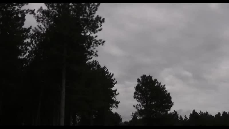 НЛО и поземный бункер в лесу 2014