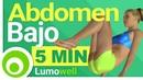 Ejercicios para Abdomen Bajo Rutina de 5 Minutos para Quemar Grasa Abdominal