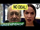 Greenpeace Co-Founder Vs Alexandria Ocasio Cortez