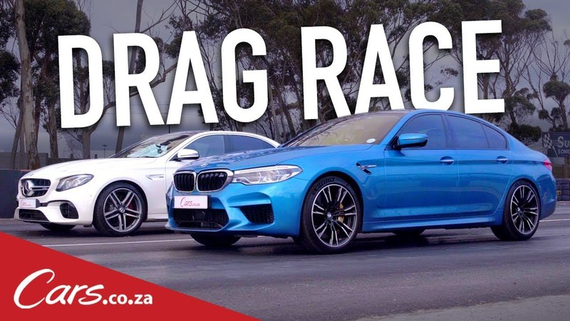 Drag Race BMW M5 vs Mercedes AMG E63 S
