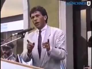 Vor 28 Jahren SAGTE HAIDER UNS DIE JETZIGE SITUATION VORAUS!!!!