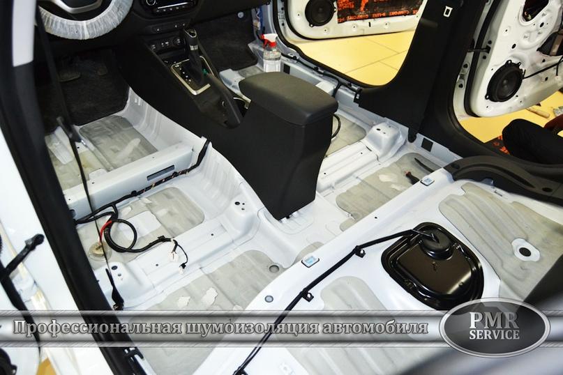Шумоизоляция Hyundai Solaris, изображение №4