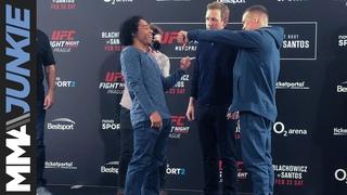 UFC Prague: media day face-offs