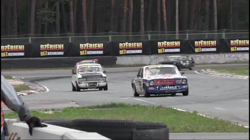 Motoru sports Volga Moskvich 1. brauciens, momenti