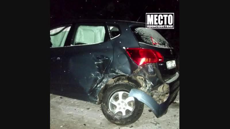 ДТП на Победиловском тракте 2 пострадали