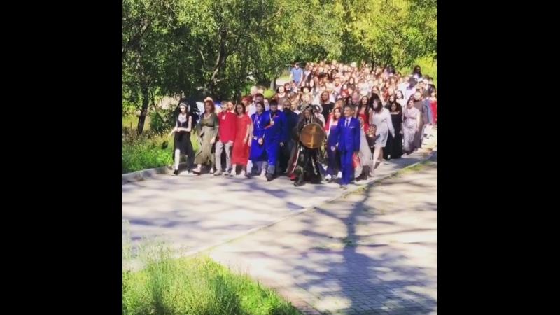 Проход кандидатов в Джамгаровском парке Видео Валерии Мухутдиновой