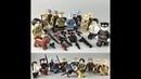 Распаковка и обзор товаров из Китая. Солдатики лего с оружием.
