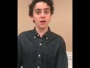 Jack's personal hi to a fan <3