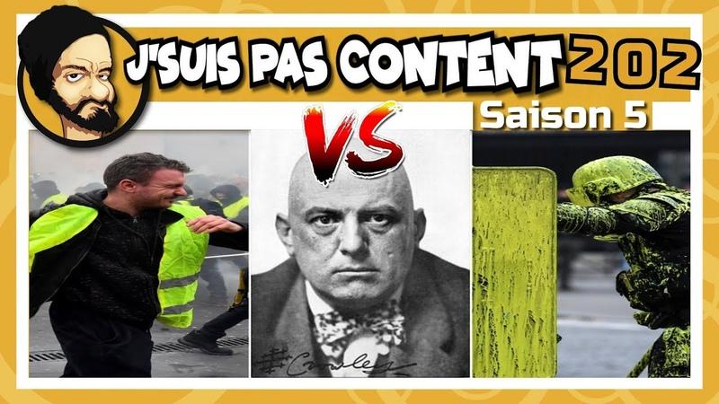 JSUIS PAS CONTENT ! 202 En Marche VS GJ Florilège dincompétence !