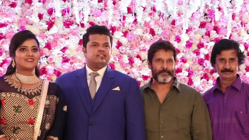 CELEBRITIES @VIKRAM MANAGER GIRI'S DAUGHTER RECEPTION part 2