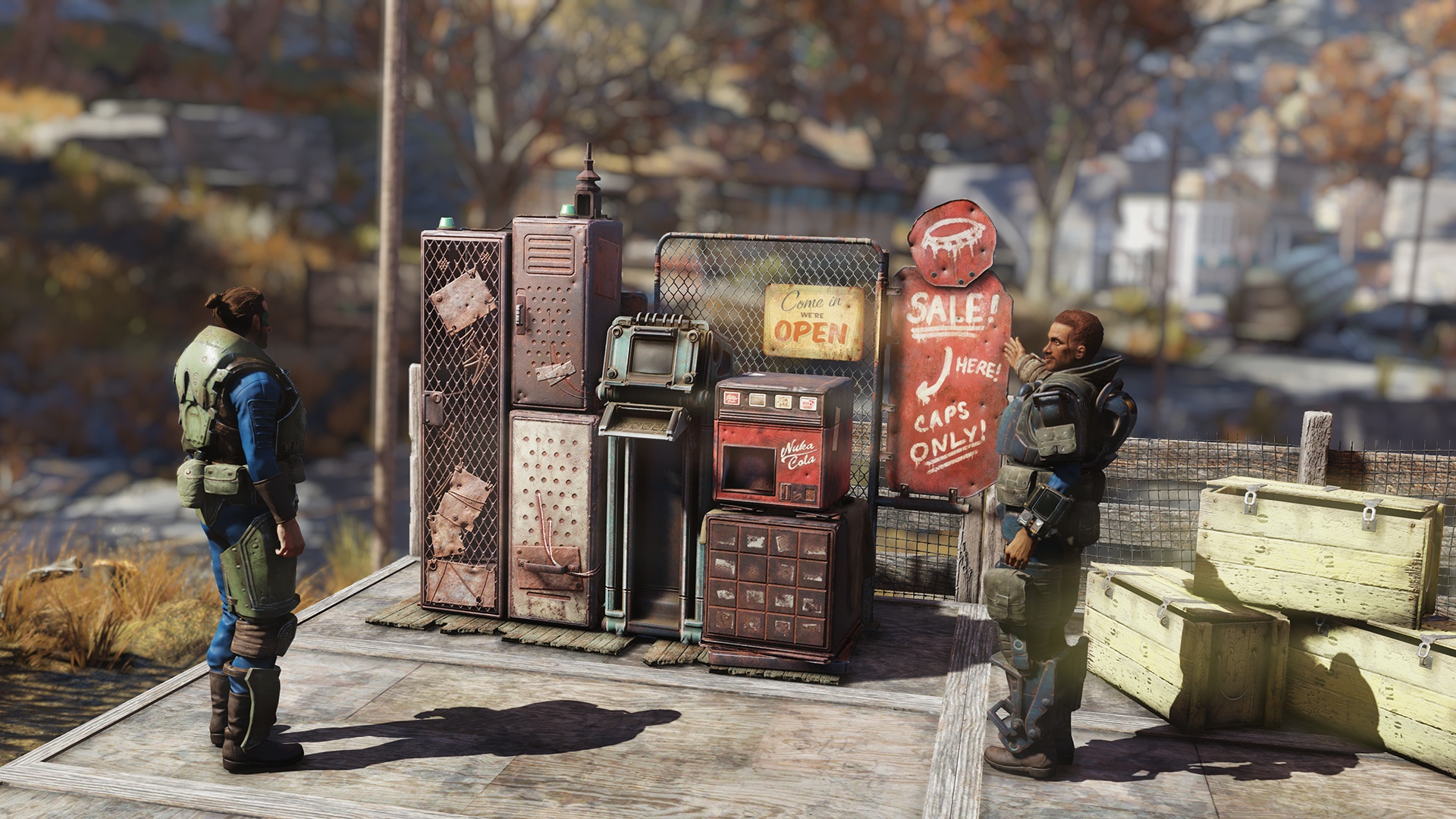 ТОРГОВЫЕ АВТОМАТЫ ИГРОКОВ Fallout76