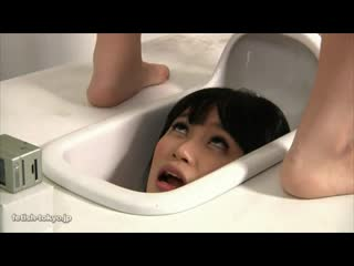 Fetish-tokyo pretty girl is turned into human squat toilet [uncensored, japanese, jav, scat, fetish, all sex, blowjob, creampie]