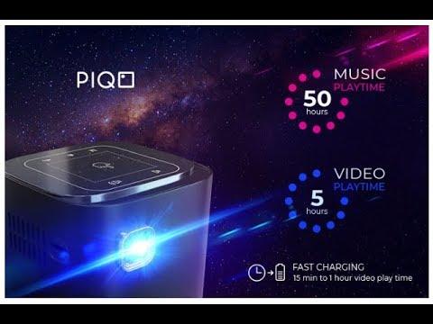 PIQO самый мощный в мире карманный проектор 1080p