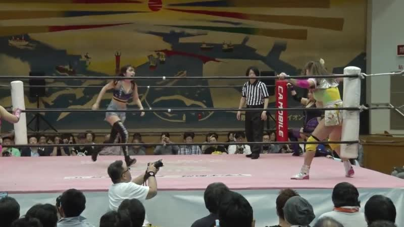 Himawari Unagi Yuna Manase vs Mina Shirawaka Yuki Kamifuku