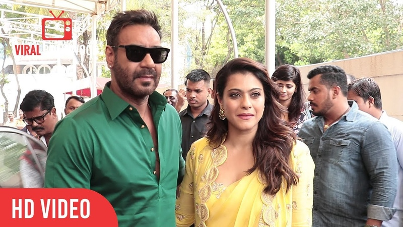 Birthday Girl Kajol GRAND Entry With Ajay Devgn at Helicopter Eela Trailer Launch