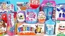 15 Киндер Сюрпризов, Unboxing Kinder Surprise ШРЕК, Littlest Pet Shop, Мимимишки, Robocar Poli,БАРБИ
