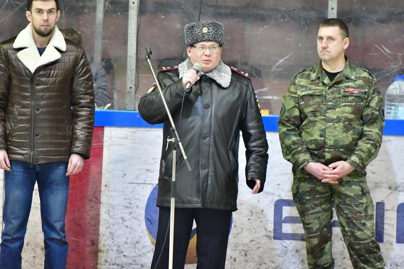 I хоккейный марафон среди команд силовых структур, посвященный Дню защитника отечества, изображение №7