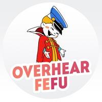 Логотип Подслушано ДВФУ/FEFU