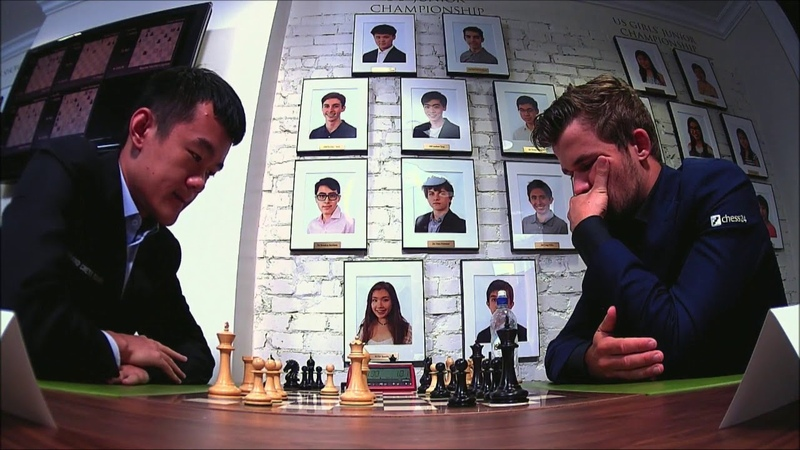 GM Ding Liren China GM Carlsen Norway 5 min