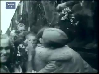 Первый поезд Победы 10 мая 1945 Белорусский вокзал