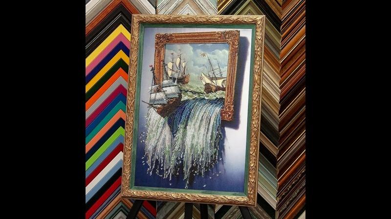 93 Море в картине Тэла Артис оформленная работа