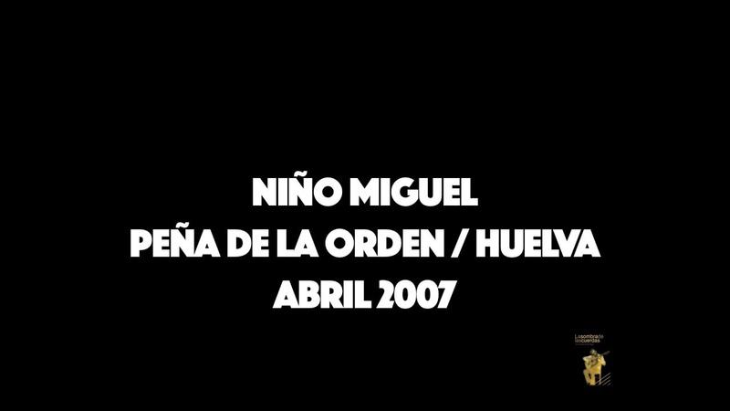 NIÑO MIGUEL ALMORAIMA