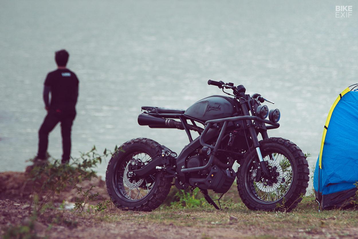 K-Speed: кастом Yamaha XSR155 Trail Breaker