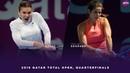 Simona Halep vs Julia Goerges 2019 Qatar Total Open Quarterfinals WTA Highlights
