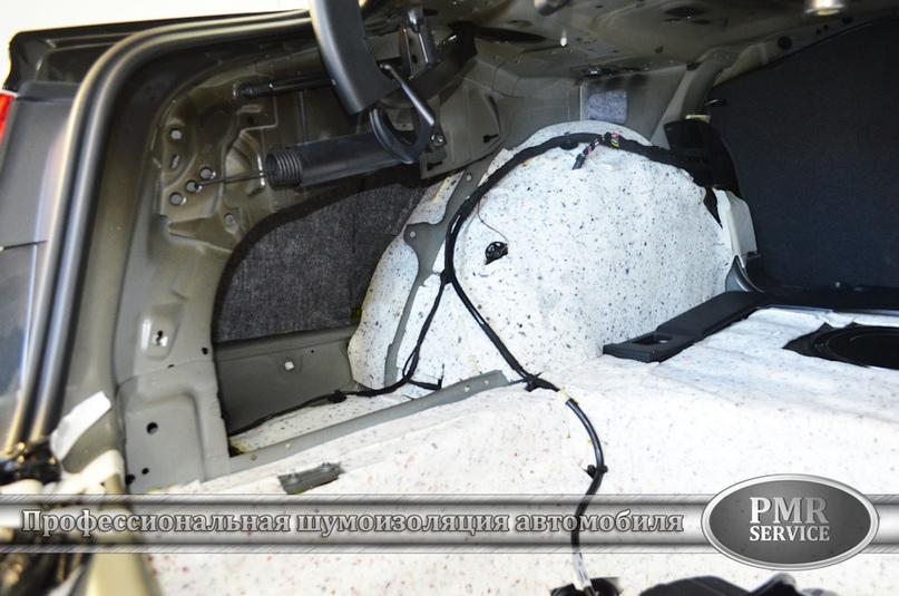 Шумоизоляция Audi A6, изображение №19