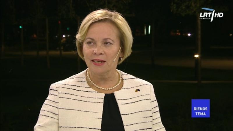NATO Parlamentinės Asamblėjos prezidentė LR NSGK pirmininko pavaduotoja R Juknevičienė teigia kad tam jog LR valstybė išlikt